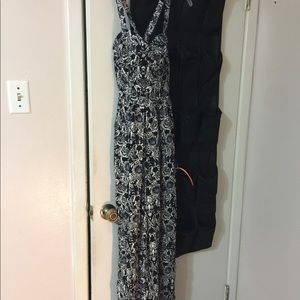 Abercrombie and Fitch long romper. Size small.